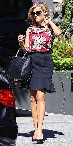 floral-print Zara tank (sept 2014)