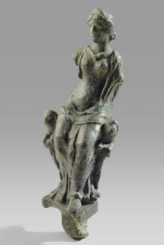 Roman Bronze Figure of Cybele Date: 2nd Century AD, 3rd Century AD