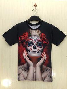 Dia de los muertos. #RegalosPersonalizados #RegalosConFoto #Personalizados #CamisetasEstampaciónCompleta #CamisetasPersonalizadas