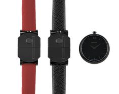 Find your watch style with Guillot Red S, Red Black, Double S, Parisian, Bracelets, Fashion Accessories, Watches, Luxury, Classic