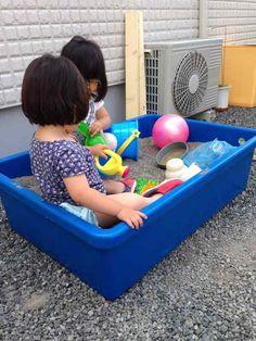 自宅の庭で手作り!子どもの砂場が大人気。サンケイリビング新聞社がお届けする、ママに役立つ子育て情報サイト「あんふぁんWeb」