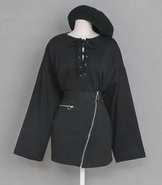 마리쉬♥패션 트렌드북! Jumper Suit, Street Fashion, Women's Fashion, Korean Fashion, Nike Jacket, Overalls, Asian, Street Style, My Style