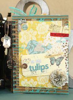 Fabrications junk mini book :)