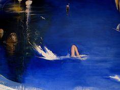 Sydney Harbour by Brett Whiteley Art Gallery, Art Works, Landscape Artwork, Australian Artists, Art Photography, Australian Art, Australian Painting, Starry Night Art, Beach Art