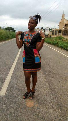 Dashiki, African print dress, Ankara dress (Please read listing details)