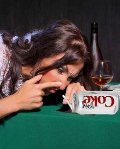 """Drinking Diet Coke is basically like ingesting poison."""