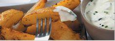 Картофель со сметаной и луком и острым томатным соусом - Рецепты Kenwood Cooking Chef