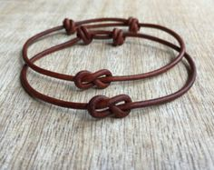 Couples Bracelets His and hers Bracelet Couples by Fanfarria