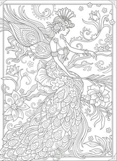Dover Coloring Pages, Nativity Coloring Pages, Angel Coloring Pages, Free Adult Coloring Pages, Cute Coloring Pages, Mandala Coloring Pages, Printable Coloring Pages, Coloring Books, Doodle Drawings