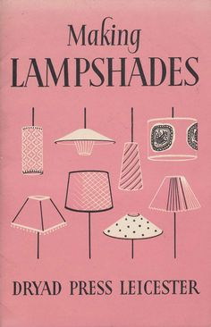 Front Free Endpaper: Making Lampshades
