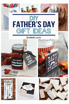 Make your dad something truly special and from the heart this year for Father's Day! Lots of fun DIY Father's Day Gifts to make him smile. Diy Father's Day Gifts To Make, Diy Father's Day Gifts From Baby, Father's Day Diy, Diy Gifts, Handmade Gifts, Diy Furniture Projects, Easy Diy Projects, Craft Tutorials, Grillin And Chillin