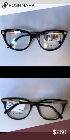 66ab87556823b AUTHENTIC LADIES VERSACE EYEGLASS FRAMES New Authentic Ladies Versace  Eyeglass Frames Versace Accessories Glasses