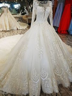 """Maureen's wedding dress as a lot more meaning to it than most, as the bride tells us, """"Hand crocheted and designed by my grandmother for my mother's wedding Iranian Wedding, Rustic Wedding Gowns, Satin Gown, Wedding Dress Styles, Prom Dresses, Bridal Dresses, Ball Gowns, Fashion Dresses, Bride"""