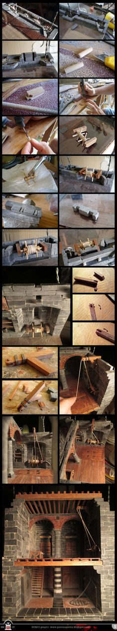 Domus project 139-170: Wooden winch by Wernerio on DeviantArt