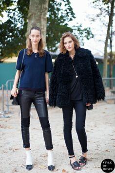 STYLE DU MONDE / Paris FW SS2014: Alana Zimmer & Catherine McNeil  // #Fashion, #FashionBlog, #FashionBlogger, #Ootd, #OutfitOfTheDay, #StreetStyle, #Style