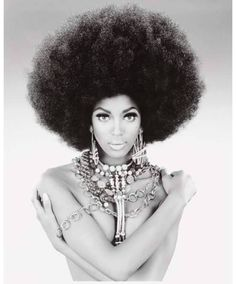 """Bethann Hardison """" A Fashion Legend"""" Rocking that afro!!! Also she is the mother of Kadeem Hardison the actor from Different World....."""