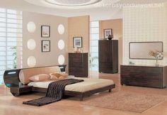 japon tarzı yatak odası modelleri