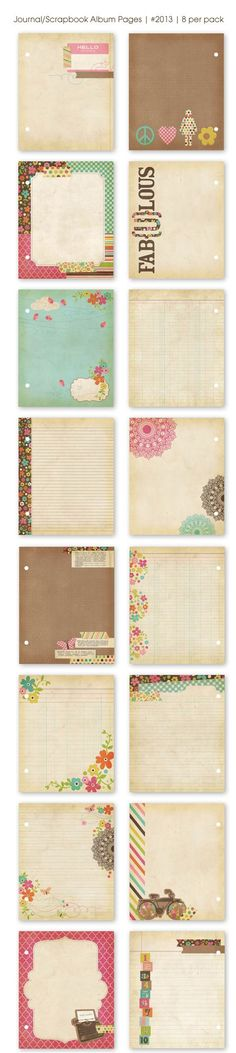Simple Stories Fabulous Journal Pages