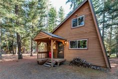 Driftwood Acres Area Home: This turn key cabin has been in the family for years but is now looking for a new owner. Recently remodeled and darling inside. Bedroom on the main level with large sleeping loft/play area upstairs. Free standing propane stove and in floor heat. Great outdoor space with fire pit. Access to amazing trails for snowmobiling, snow shoeing, skiing, biking & hiking, plus community has private beach access to Lake Cle Elum for endless summer fun!
