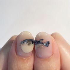 Chic Nail Art, Chic Nails, Matte Nails, Acrylic Nails, Hair And Nails, My Nails, Nail Tip Designs, Different Nail Designs, Minimalist Nails