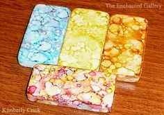 what a cool idea....love the alcohol ink
