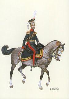 Granducato di Varsavia 8° Rgt. ulani  Colonnello comandante Principe Dominik Radziwill