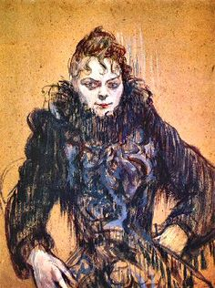 Toulouse-Lautrec : Etude.