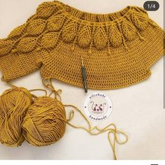 Hobbies And Crafts Crochet Top Crochet Clothes Winter Outfits Pullover Knitting Diy Crafts Sweatshirts Sweaters Gilet Crochet, Crochet Jumper, Crochet Jacket, Crochet Cardigan, Crochet Shawl, Crochet Stitches, Crochet Patterns, Mode Crochet, Crochet Baby