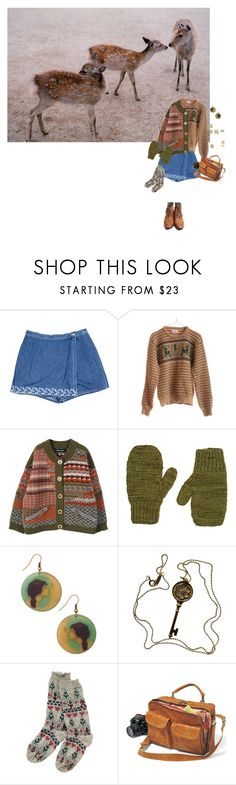 """""""For Warmth"""" by planets-n-stars ❤ liked on Polyvore featuring ...Lost, The Elder Statesman and Tiffany & Co."""