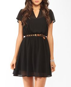 Forever21- Short sleeve lace inset dress. Product code: 2000048864