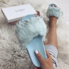 """6,874 Likes, 27 Comments - WWW.SIMMI.COM (@simmishoes) on Instagram: """"Lovin' baby blue RN  Shoes: Whiteney - £20.00 Shop: simmi.com #SIMMIGIRL"""""""