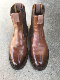 靴バカ.com Trickersサイドゴアブーツ Pen Case, Chelsea Boots, Men's Fashion, Ankle, Wallet, Canvas, Leather, Bags, Shoes