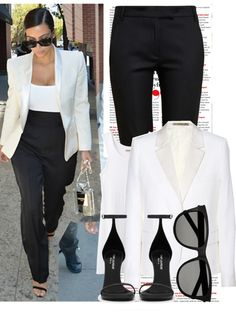"""Celebrity style: Kim kardashian"" by caligurrl4life on Polyvore"