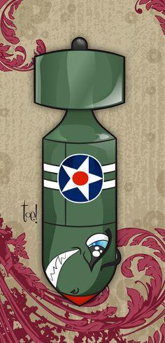 Vintege #WW2 Bomb  #jagrios