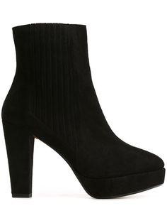 SONIA RYKIEL chunky heel ankle boots. #soniarykiel #shoes #boots