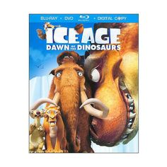 Ice Age 3 Dawn Of The Dinosaurs (Blu-ray DVD) (Widescreen) ($14) ❤ liked on Polyvore