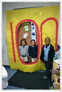 100th Day of School - classroom entrance