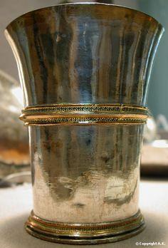 Silver Goblet, 14th century France. Louvre Museum, Paris.