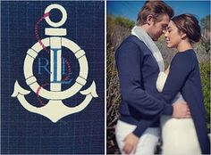 Nautical themed wedding