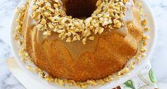 Brown Sugar Walnut Pound Cake