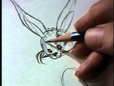 Chuck Jones shows how to draw Bugs Bunny #PickDeck