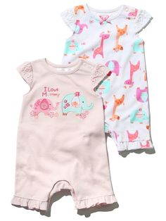 £13 Elephant rompersuit two pack