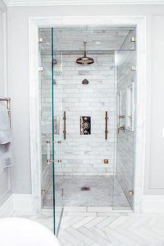 Steam room shower, steam showers bathroom, marble showers, marble b Bathroom Shower Panels, Steam Showers Bathroom, Shower Floor, Shower Window, Shower Shelves, Bad Inspiration, Bathroom Inspiration, Shower Remodel, Bath Remodel