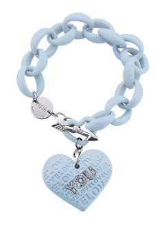 KULTO BRACCIALE DONNA Jewels AZZURRO Love You LY005 GioielliVarlotta