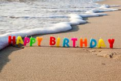 happy 40 birthday ocean scenes | Happy, birthday, beach, sea, sand, congratulations, holiday wallpapers ..