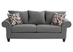 Macey Charcoal Queen Sleeper Sofa