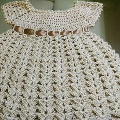 Crochet Baby, Crochet Top, Baby Patterns, Projects To Try, Kids, Dresses, Fashion, Crochet Baby Dresses, Crochet Clothes