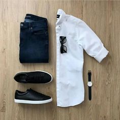 Likes, 6 Comments – Men's Fashion Outfit Grid ( on Ins… – Emma Anderson - Touching and Emotional Image Mens Casual Dress Outfits, Stylish Mens Outfits, Men Dress, Mens Fashion Blog, Suit Fashion, Fashion Trends, Fashion Outfits, Trendy Fashion, Fashion Ideas