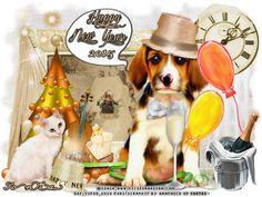 "MI RINCÓN GÓTICO: CT GRAPHICS OF FANTASY ""New Year Dog"""