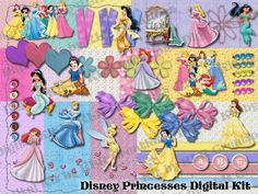 Princess Digital Scrapbooking kit $5